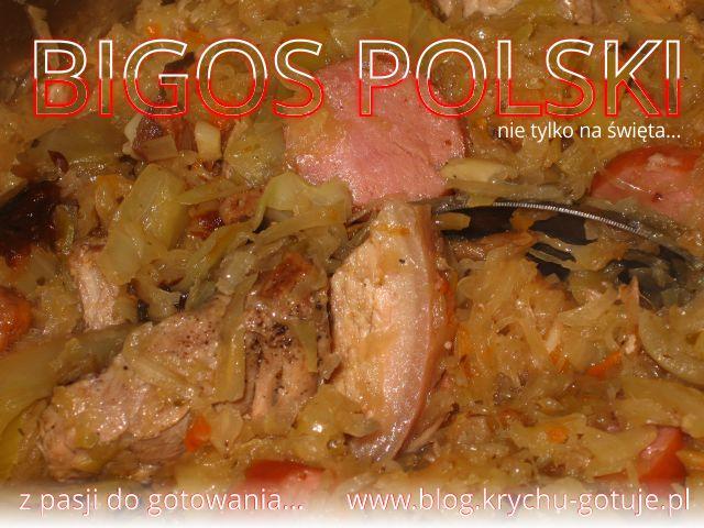 Bigos polski na Święta