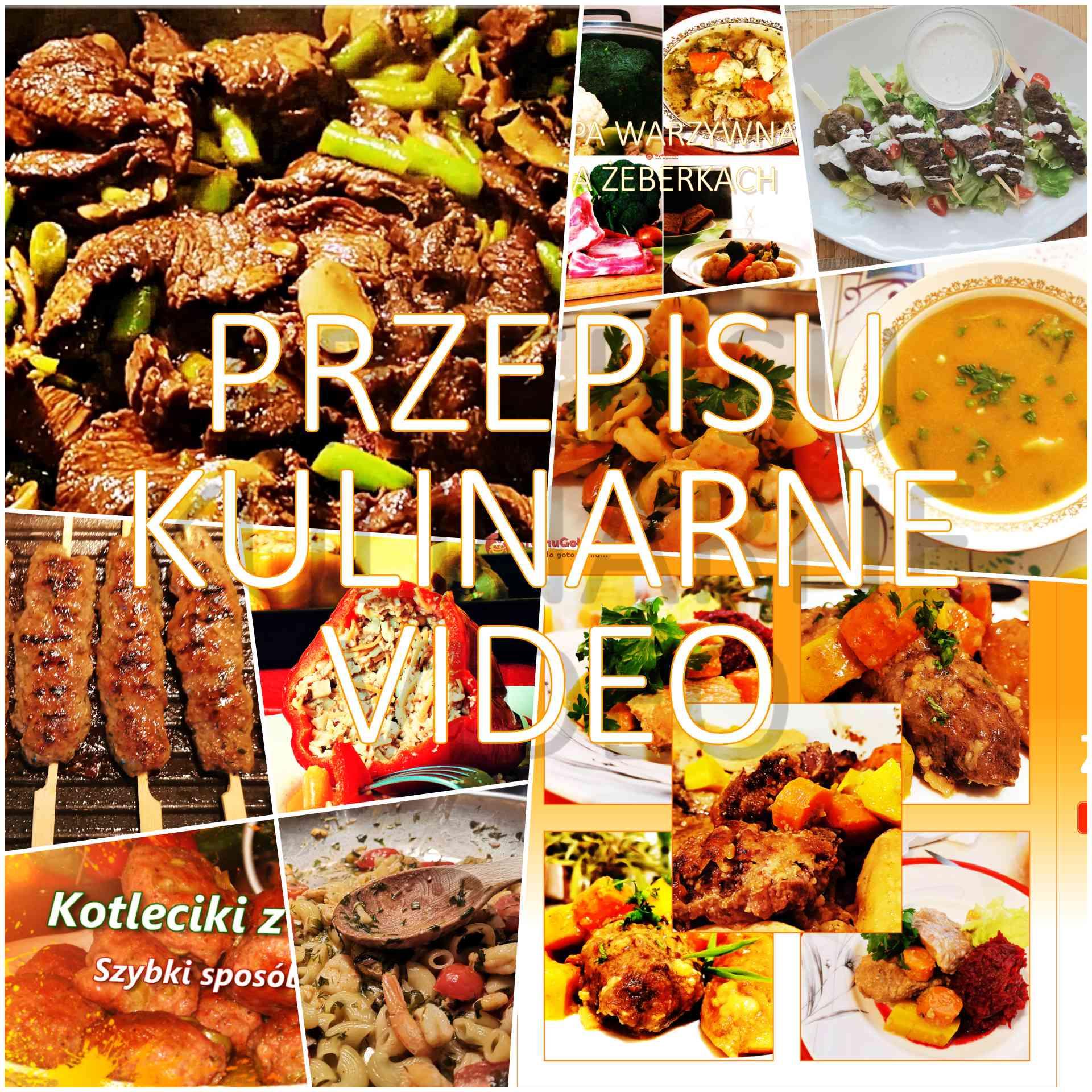Przepisy kulinarne wideo