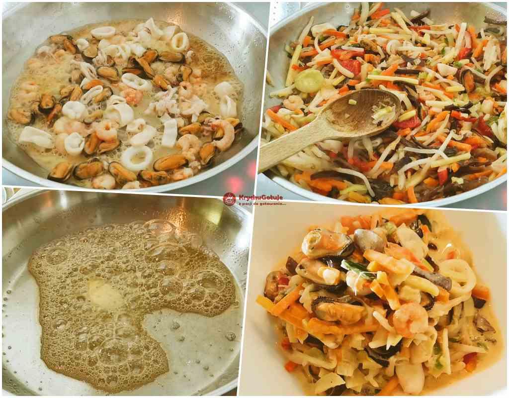 Przygotowanie dania na obiad