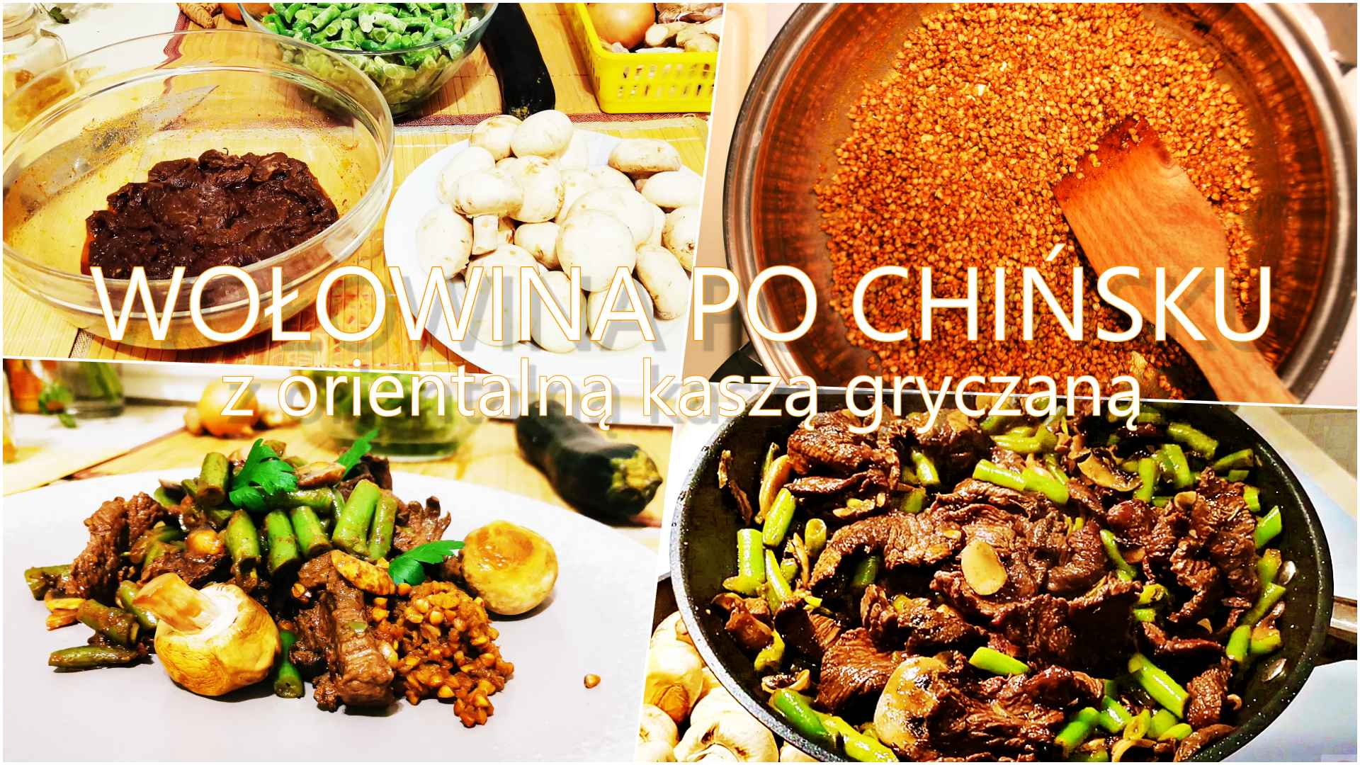Wołowina po chińsku