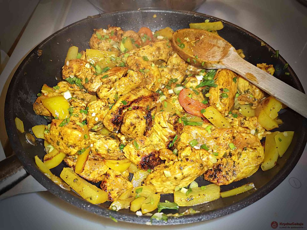 Kurczak po indyjsku